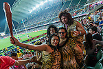 Atmosphere during the Cathay Pacific / HSBC Hong Kong Sevens at the Hong Kong Stadium on 27 March 2015 in Hong Kong, China. Photo by Manuel Bruque / Power Sport Images
