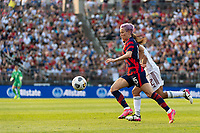 EAST HARTFORD, CT - JULY 5: Megan Rapinoe #15 of the United States during a game between Mexico and USWNT at Rentschler Field on July 5, 2021 in East Hartford, Connecticut.