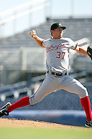 Stephen Strasburg - Phoenix Desert Dogs pitching his second Arizona Fall League game against the Peoria Javelinas at Peoria Sports Complex - 10/22/2009..Photo by:  Bill Mitchell/Four Seam Images..