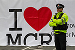 © Joel Goodman - 07973 332324  . 02/10/2011 . Manchester, UK . Police at a protest against the government through Manchester City Centre during the 2011 Conservative Party Conference at the Manchester Central Convention Centre (formerly GMex) . Photo credit: Joel Goodman