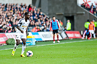 Saturday 19 October 2013 Pictured: Nathan Dyer<br /> Re: Barclays Premier League Swansea City vSunderland at the Liberty Stadium, Swansea, Wales