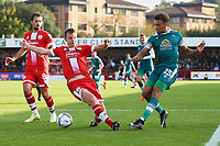 Donovan Wilson of Sutton United during Crawley Town vs Sutton United, Sky Bet EFL League 2 Football at The People's Pension Stadium on 16th October 2021