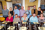 Celebrating the engagement of Clodagh Higgins of Tralee and James Stack from Abbeydorney in the Brogue Inn on Sunday. <br /> Seated l to r:  Breda Burrows, Sandra Moriarty, Clodagh Higgins, James Stack and Valerie Higgins. Back l to r: Peter and Ciara Stack, Jason Poole, John Higgins, Michael Burrows, Graham Higgins and Clodagh O'Sullivan.