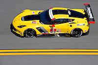 28-31 January, 2016, Daytona Beach, Florida USA<br /> 3, Chevrolet, Corvette C7, GTLM, Antonio Garcia, Jan Magnussen, Mike Rockenfeller<br /> ©2016, F. Peirce Williams