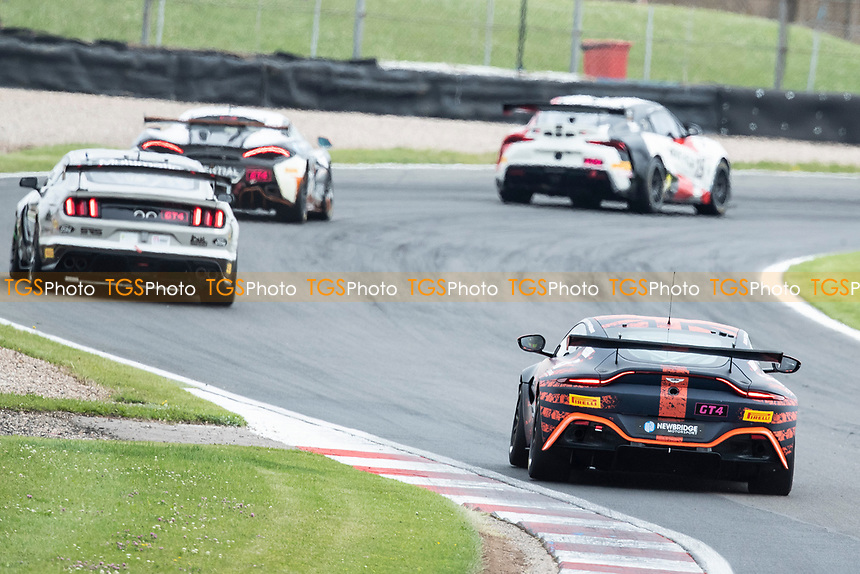 Through Schwantz Curve into McLeans during the British GT & F3 Championship on 10th July 2021