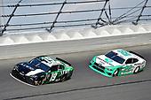 #19: Brandon Jones, Joe Gibbs Racing, Toyota Supra Juniper and #22: Austin Cindric, Team Penske, Ford Mustang MoneyLion