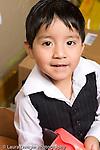 Education Preschool 3-5 year olds closeup portrait of boy vertical
