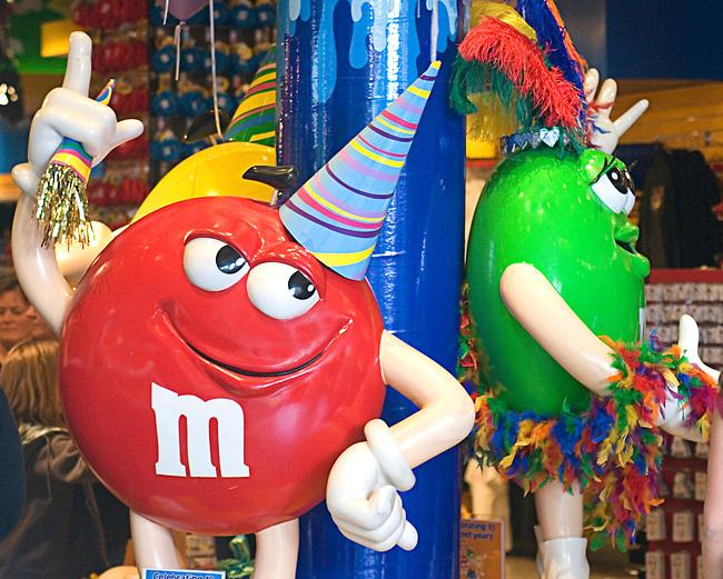 M & Ms, Las Vegas, Nevada