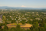 Aerial View of Rocky Butte in Northeast Portland, Oregon