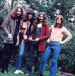 Black Sabbath 1970 Bill Ward, Tony Iommi, Geezer Butler and Ozzy Osbourne..© Chris Walter.