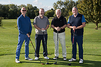 From left are Derek Lowe, Anthony Cawley, Dominic O' Brien and John Parkhouse of Team Jamieson Christie