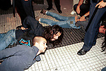 Economic Turmoil in Argentina<br /> Demonstrators against the economic climate are arrested after a disturbance. 2000s 2002