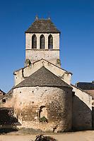 Europe/France/Midi-Pyrénées/46/Lot/Lherm: L' Église Notre- Dame- de- l'Assomption