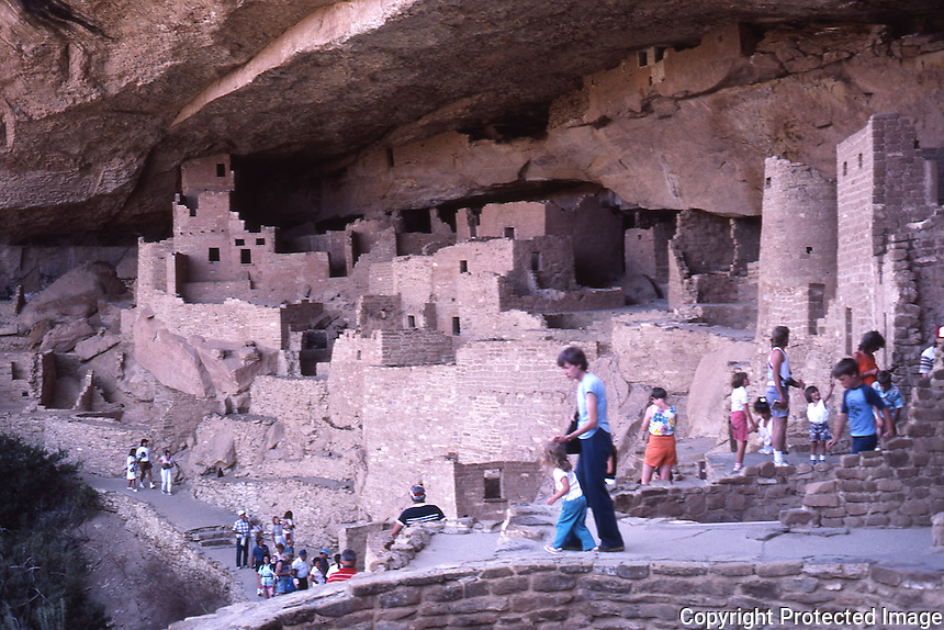 Cliff Palace, Mesa Verde National Park, Oct. '87.