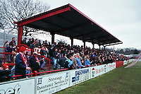 Broadhall Way, home of Stevenage Borough FC (Hertfordshire), pictured in March 1996 - Gavin Ellis/TGSPHOTO - Self billing applies where appropriate - 0845 094 6026 - contact@tgsphoto.co.uk - NO UNPAID USE..