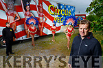 Members of the Circus Vegas who are hoping to do a Drive In Circus show in Tralee in the first week of July'<br /> Front right: Stephen Courtney Sr.<br /> Back l to r: Stephen Courtney Jr, Amber Thompson, Theresa Salgato and Theresa Peddie.