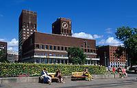 Rathaus (Rldhuset), Oslo, Norwegen