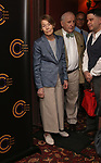 Glenda Jackson, Lionel Larner, Peter Cromerty and Jim Byk  attend the 2018 Outer Critics Circle Theatre Awards at Sardi's on May 24, 2018 in New York City.