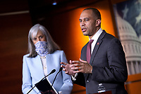 Representatives Katherine Clark and Hakeem Jeffries Hold News Conference