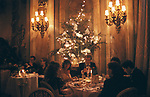 New Years Eve party at the Ritz Hotel London England 1986 1980s