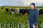Tommy Culloty on his farm in Curravough, Tralee.