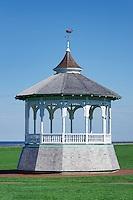 Gazebo, Ocean Park, Ocean Park, Oak Bluffs, Martha's Vineyard, Massachusetts, USA
