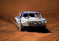 Apr 15, 2011; Surprise, AZ USA; LOORRS driver Travis Coyne (5) during round 3 and 4 at Speedworld Off Road Park. Mandatory Credit: Mark J. Rebilas-.