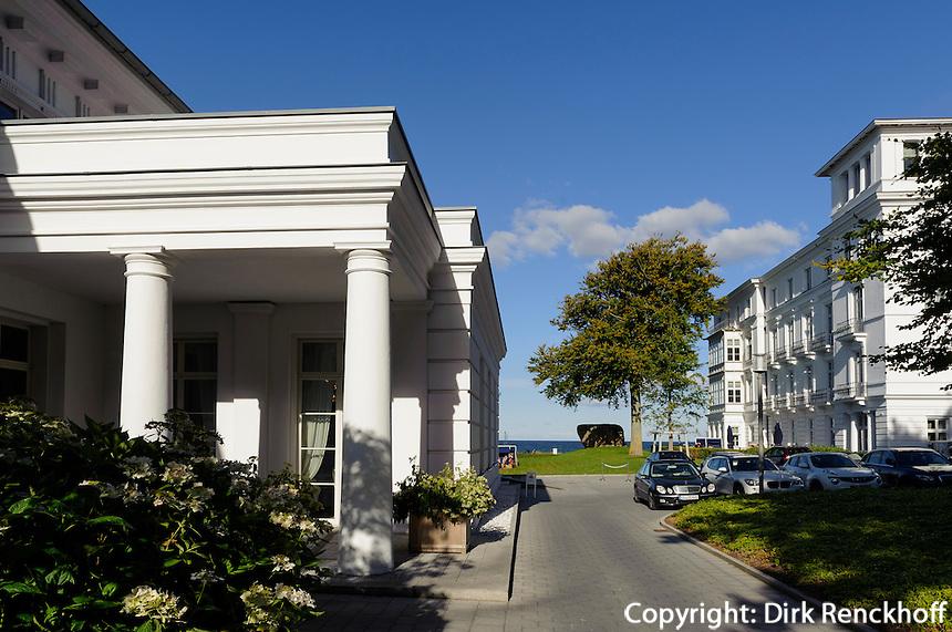 Grand Hotel in Heiligendamm, Mecklenburg-Vorpommern, Deutschland
