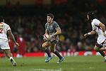 James Hook<br /> Dove Men Series 2013<br /> Wales v Tonga<br /> Millennium Stadium - Cardiff<br /> 22.11.13<br /> ©Steve Pope-SPORTINGWALES