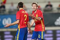 Spain's Cesar Azpilicueta (l) and Nacho Monreal during international friendly match. June 7,2017.(ALTERPHOTOS/Acero) (NortePhoto.com) (NortePhoto.com)