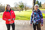 Enjoying a stroll in the Killarney National Park on Saturday, l to r: Mary Chute and Mary Vousden