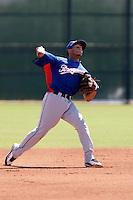 Leury Garcia - Texas Rangers 2009 Instructional League.Photo by:  Bill Mitchell/Four Seam Images..