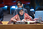 Security Council Meeting The situation in the Middle East