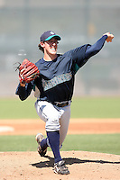 Brian Moran, Seattle Mariners 2010 minor league spring training..Photo by:  Bill Mitchell/Four Seam Images.