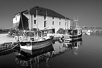 Cromwell Harbour in the fishing town of Dunbar, East Lothian