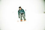 Challenge Mer et Montagne 2012, Saint Gervais les Bains, Mont Blanc, Haute Savoie, France..Ski Super Geant..Sebastien Col