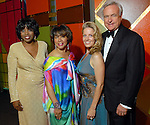 Argentina James, Merele Yarborough, Bill King and Melissa King at the Ensemble Theatre Gala at the Hilton Americas Hotel Friday Aug. 15,2008. (Dave Rossman/For the Chronicle)
