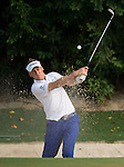 Ian Poulter of England hits the ball during Hong Kong Open golf tournament at the Fanling golf course on 24 October 2015 in Hong Kong, China. Photo by Aitor Alcade / Power Sport Images