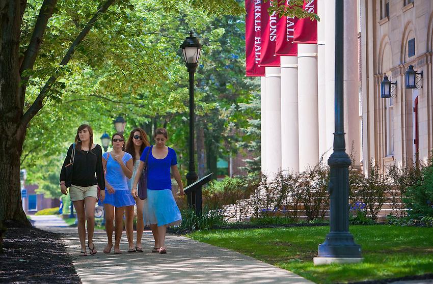 Various Scenics Lafayette College Campus in Spring 4112.