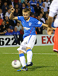 Robbie Crawford scores goal no 3 for Rangers