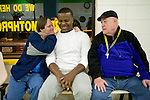 Mae Gammino/Warwick Beacon<br /> <br /> Residents from Trudeau Center's semi independent living program require guidance to navigate their daily lives. Like many resident of the program, Ray, left, and Kevin. right, each has a different degree of abilities; Kevin needs help with every aspect of a daily routine, while Ray's need is more basic.  They have been roommates for over 3 years, and have become close with their social workers whom they consider family.