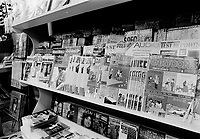 Etalage de magazine et journaux,  7 Mars 1973<br /> <br /> PHOTO :   Agence Quebec Presse - Alain Renaud