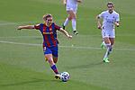 Liga IBERDROLA 2020-2021. Jornada: 18.<br /> FC Barcelona vs R. Madrid: 4-1.<br /> Mariona Caldentey.