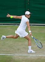 27-6-09, England, London, Wimbledon, Kirsten Flipkens