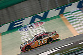 Chad Finchum (13) races for the Shady Rays 200 at Kentucky Speedway in Sparta, Kentucky.