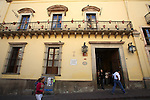 View of the historic building where the priest Miguel Hidalgo y Costilla took office with the independentists on the year 1810 in Guanajuato city, February 13, 2008. Photo by Heriberto Rodriguez