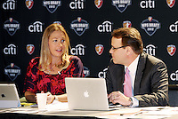 Kyndra de St Aubin. Dean Linke... The WPS draft 2012 was held at the Kansas City Convention Center, Kansas City, MO.