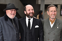 "Ray Winstone, Michael Smiley and Johnny Harris<br /> at the ""Jawbone"" premiere held at the bfi, South Bank, London. <br /> <br /> <br /> ©Ash Knotek  D3263  08/05/2017"