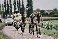 Florian Vermeersch (BEL/Lotto Soudal)<br /> <br /> 118th Paris-Roubaix 2021 (1.UWT)<br /> One day race from Compiègne to Roubaix (FRA) (257.7km)<br /> <br /> ©kramon