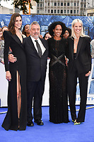 "Pauline Hoarau, Luc & Virginie Besson and Sasha Luss<br /> at the ""Valerian"" European premiere, Cineworld Empire Leicester Square, London. <br /> <br /> <br /> ©Ash Knotek  D3290  24/07/2017"